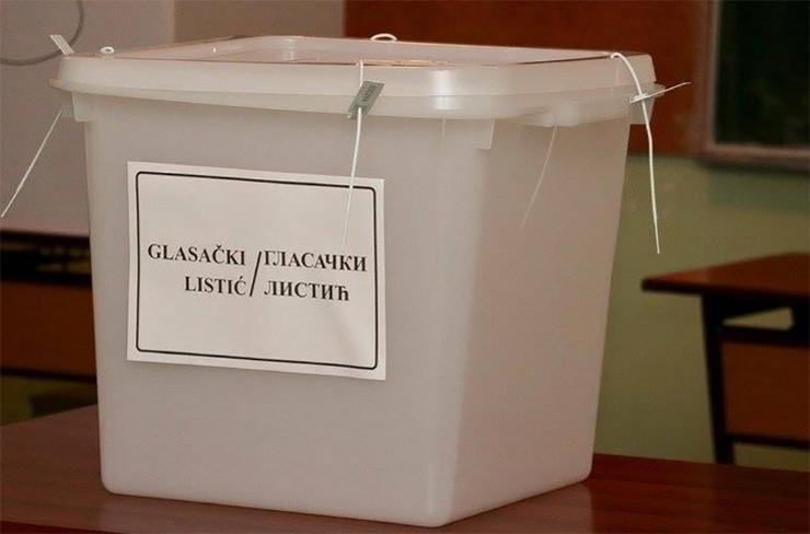 glasanje izbori kutija
