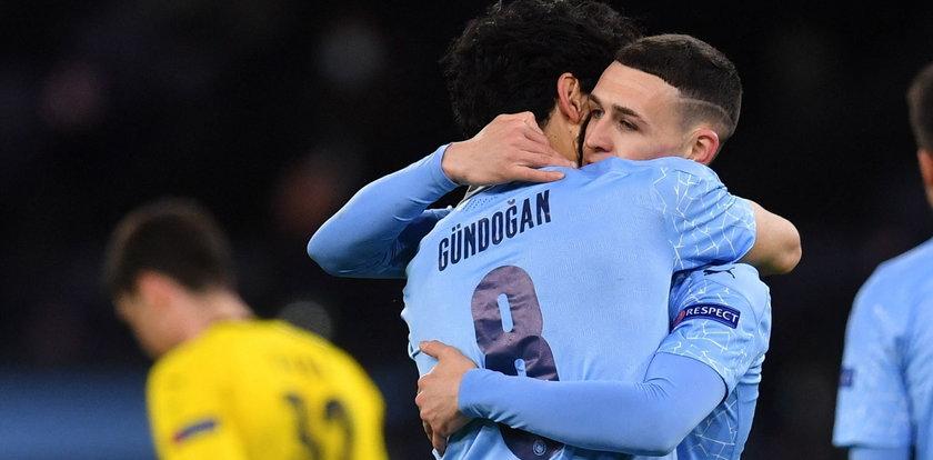 Liga Mistrzów: Manchester City dopełnił formalności i zameldował się w półfinale