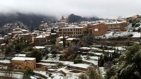 Śnieżyca na Majorce - zasypane drogi i pół metra śniegu w górach