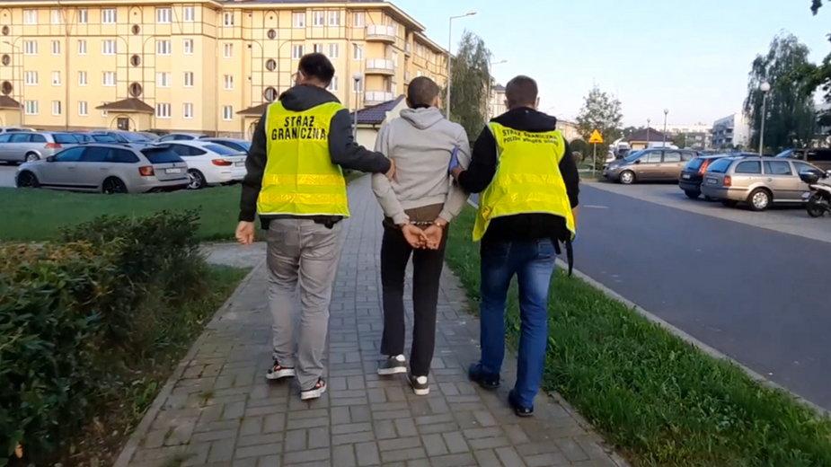 Zatrzymano Gruzina, ktróry koordynował nielegalne sprowadzenia cudzoziemców do Polski