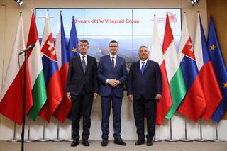 Przywódcy V4 po spotkaniu z szefową KE: W kwestii migracji potrzebna skuteczna kontrola na granicach
