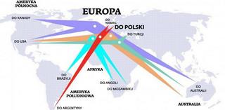 Zmienia się migracyjna mapa Europy. Hiszpanie i Włosi szukają pracy w Polsce