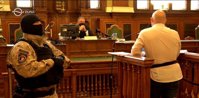 Čaba Der u sudnici
