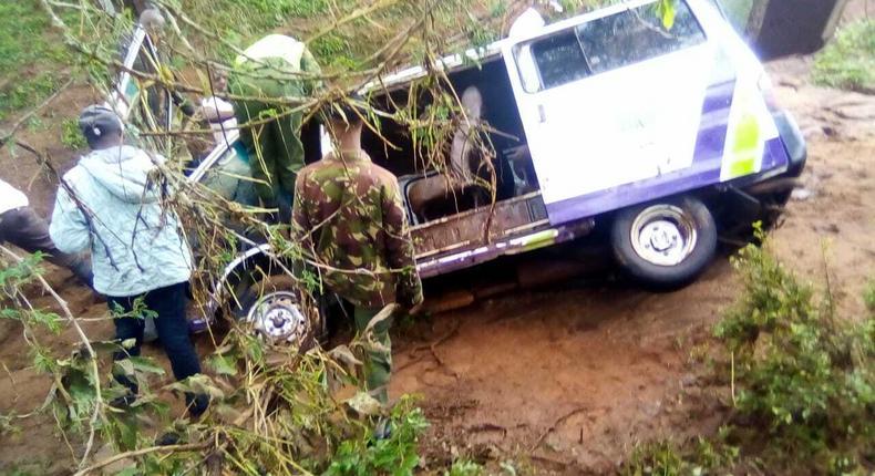 5 family members killed by flash floods at Ngatatoek area in Kajiado Central