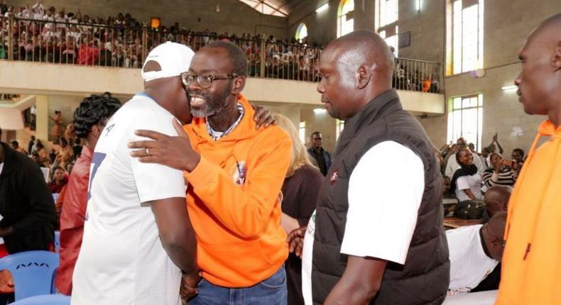 Kibra MP Ken Okoth lands in Kenya after long battle with cancer, mopped with love at first public event