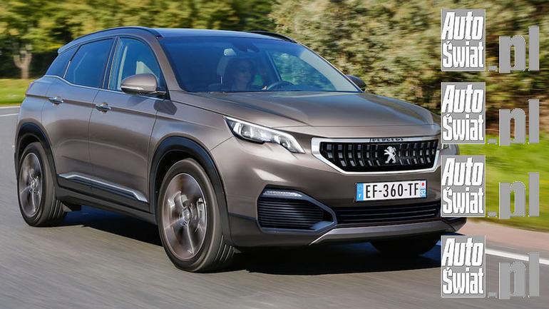Peugeot 3008 - wizualizacja