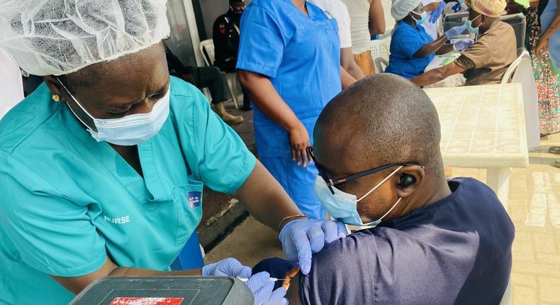 COVID-19 vaccination in Lagos, Nigeria [LASG]