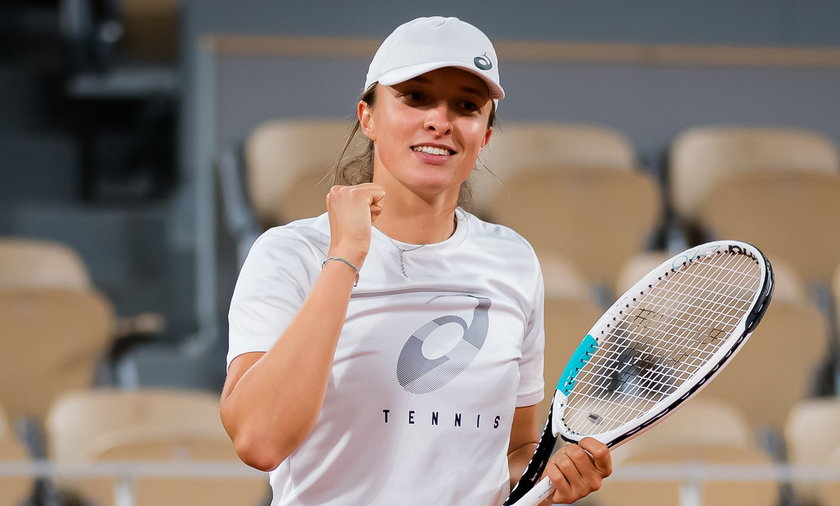Tennis 2021: French Open: Practice