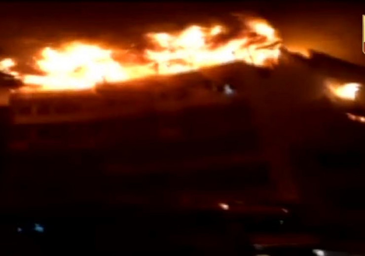 Požar hotel Indija Nju Delhi