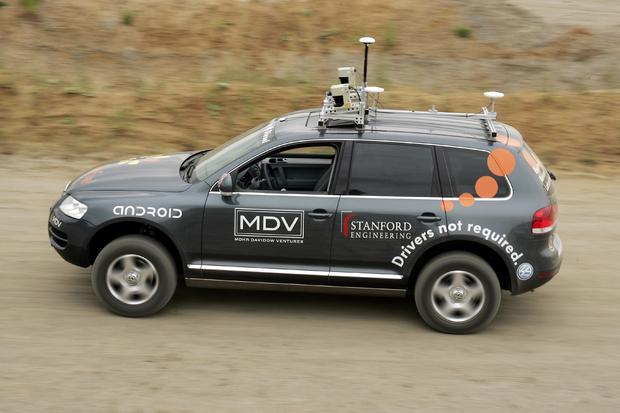 Wyscig DARPA Volkswagen Stanley