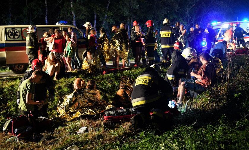 Tragiczny wypadek w Leszczawie Dolnej