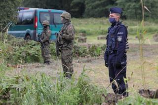 MON: Na granicy z Białorusią jest 1000 żołnierzy, docelowo będzie 2 tys.