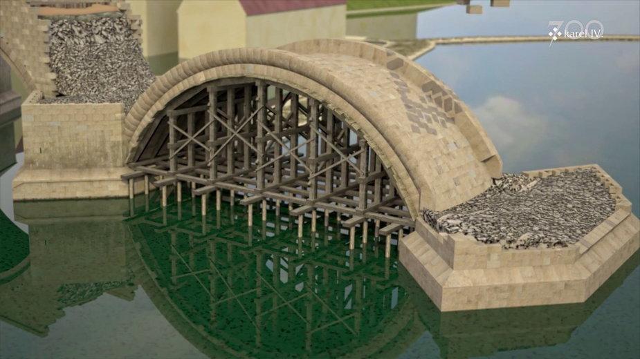 Jak zbudowano Most Karola w Pradze (Czechy)?