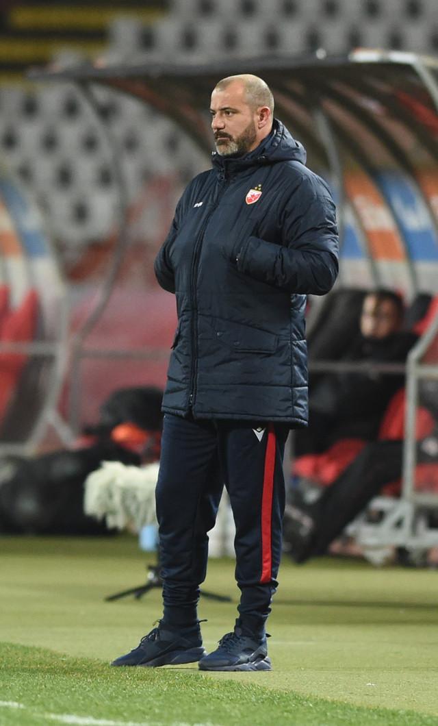Detalj sa meča FK Crvena zvezda - Mačva