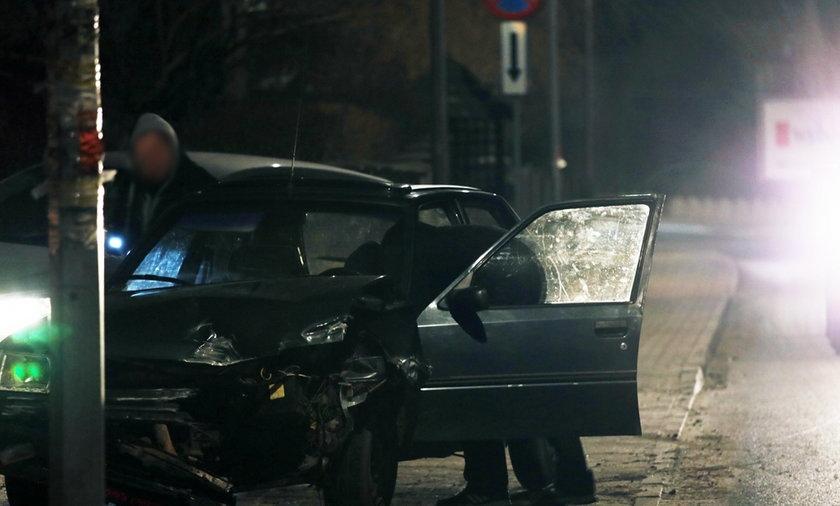Kierowca spowodował wypadek i uciekł z miejsca wypadku