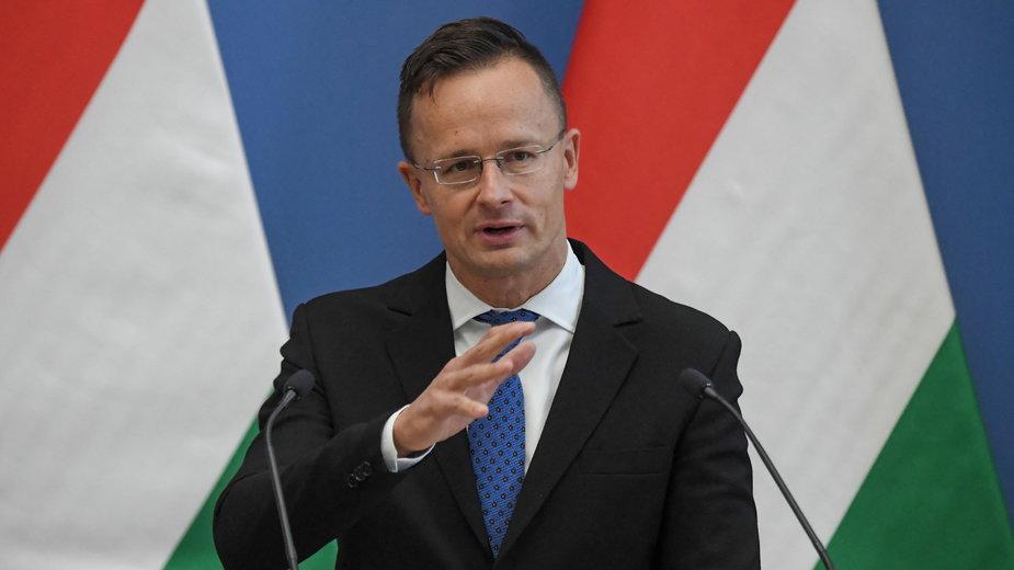 Peter Szijjarto, szef MSZ Węgier