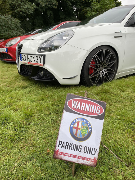 Alfa Romeo i zlot ForzaItalia
