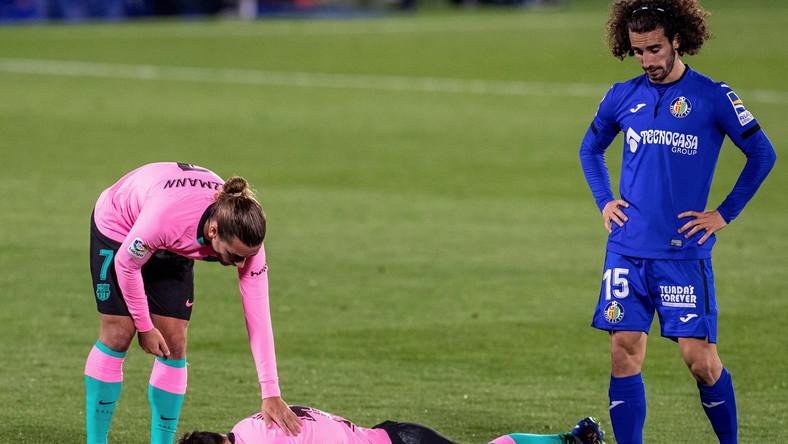 Antoine Griezmann, Lionel Messi i Marc Cucurella