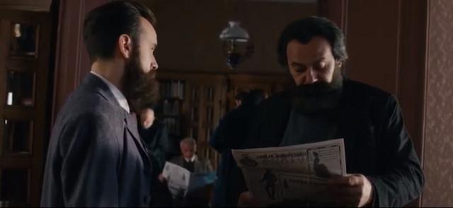 Miša Dimitrijević i Svetozar MIletić u ulogama Radovana Bukvića i Ljube Bandovića