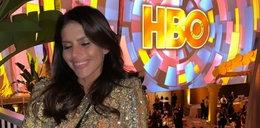 Rosati ogrzewa się w blasku gwiazd na Złotych Globach
