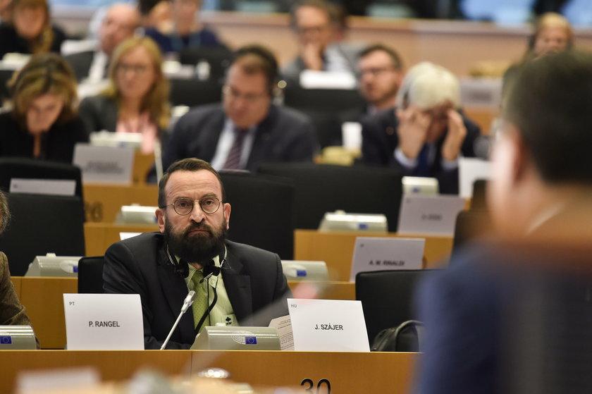 Jerzy BUZEK EP President, Jozsef SZAJER, Viktor ORBAN