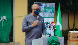 The Director-General of the Nigeria Centre for Disease Control (NCDC), Dr Chikwe Ihekweazu [@NCDCgov]