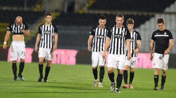 Tri remija i jedna pobeda: Fudbaleri Partizana