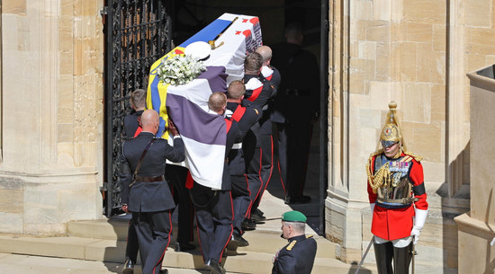 Trwają uroczystości pogrzebowe księcia Filipa