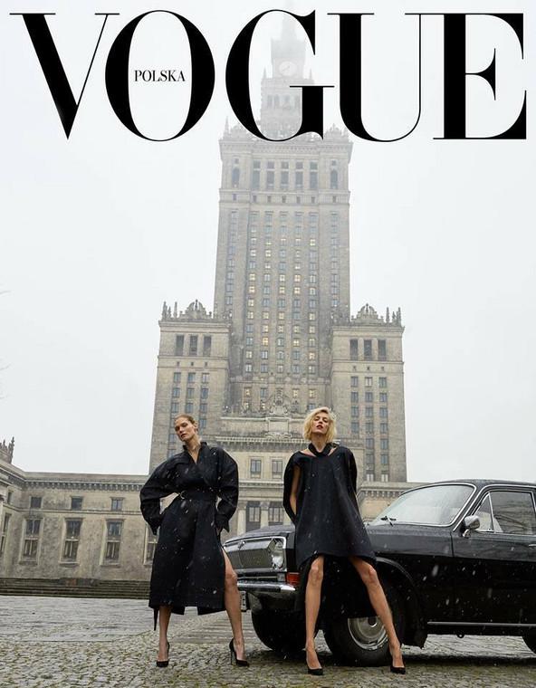 """pierwsza okładka polskiego """"Vogue"""""""