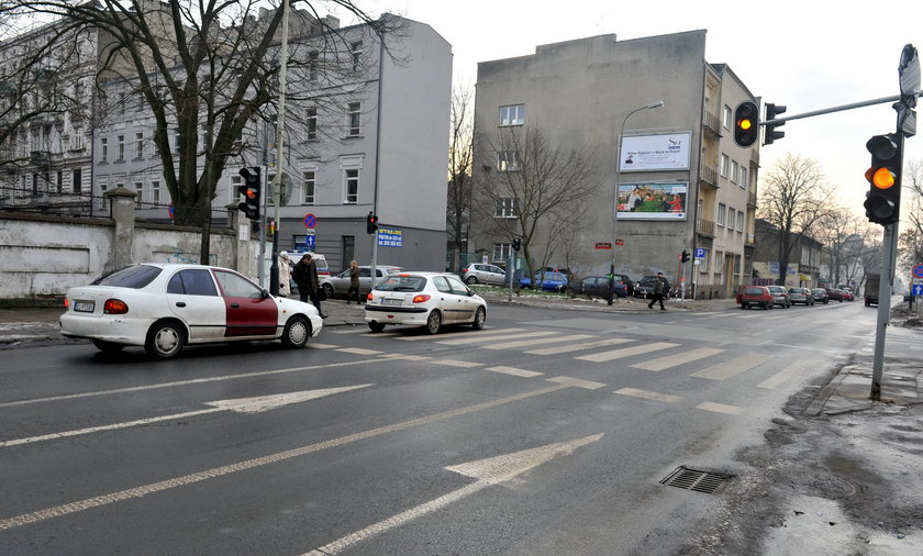 Wolczańska brakuje pasa do lewoskrętu
