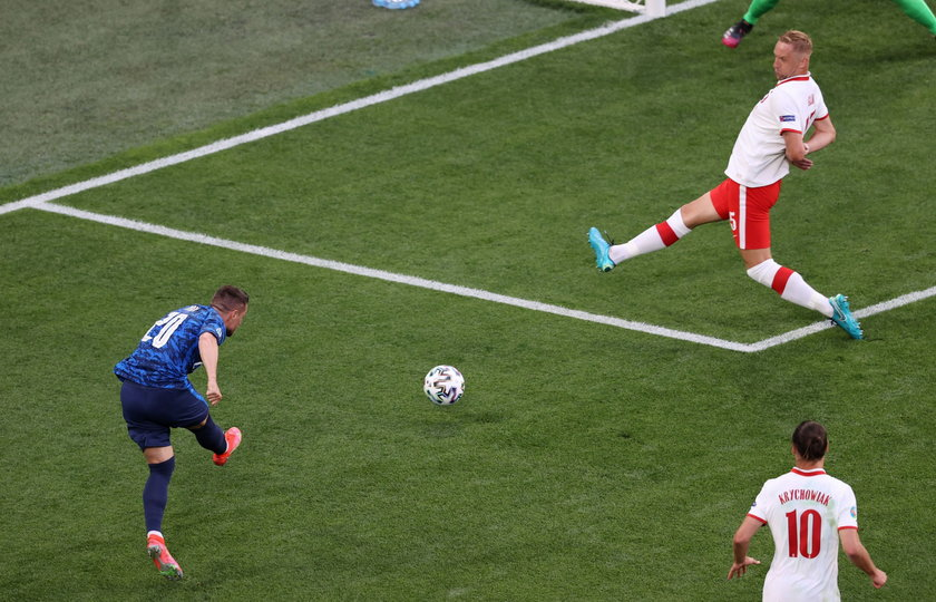 Tak Polska straciła gola.