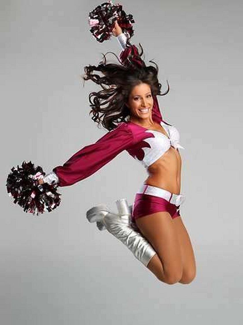 Pierwsza taka cheerleaderka! FOTY!