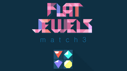 Flat Jewels: Match 3