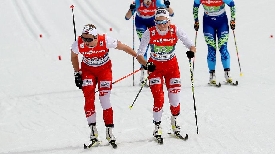 Monika Skinder (po lewej) i Izabela Marcisz