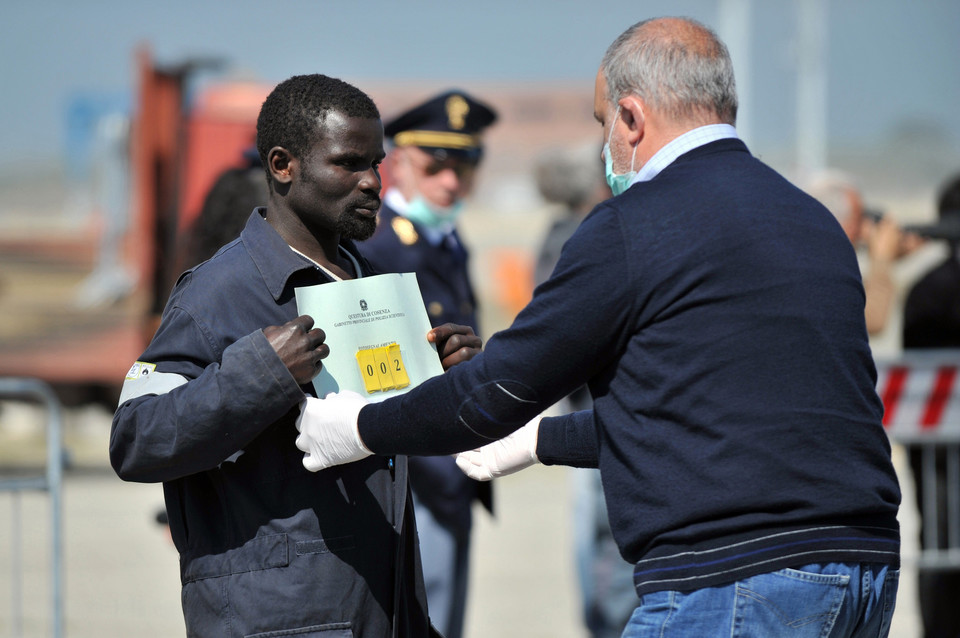 ITALY-IMMIGRATION-REFUGEE-AFRICA