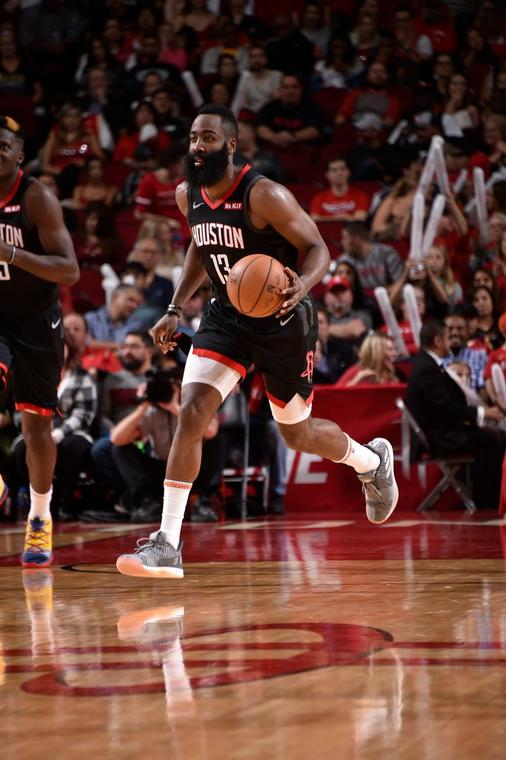 James Harden was again influential for the Rockets [NBA]