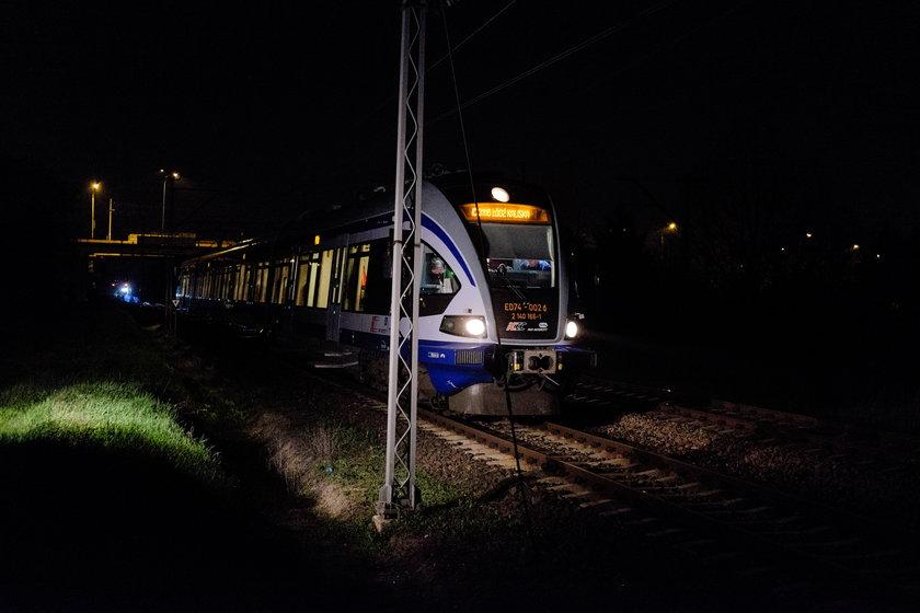 Maszynista i kierownik pociągu byli trzeźwi