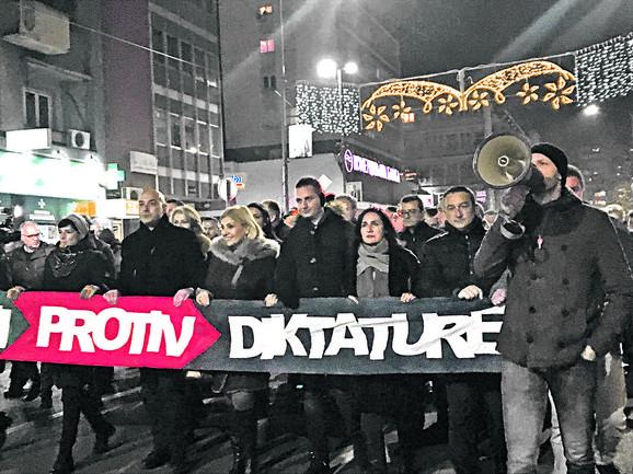 Protest u Kruševcu