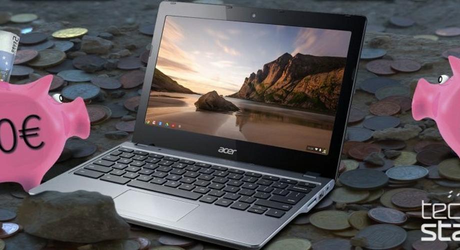 Acer C720: 8-Stunden-Haswell-Chromebook für 250 Euro