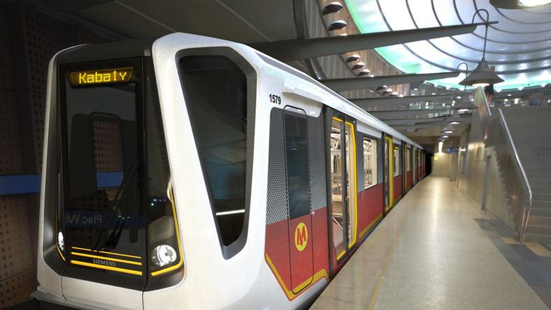 Oto nowe wagony warszawskiego metra