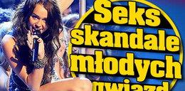 Seks skandale młodych gwiazd