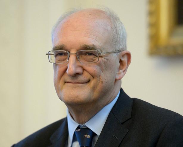 Profesor sir Leszek Borysiewicz, szef Cancer Research UK i wieloletni wicekanclerz Uniwersytetu Cambridge