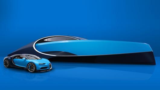 Jacht Bugatti - życie na fali