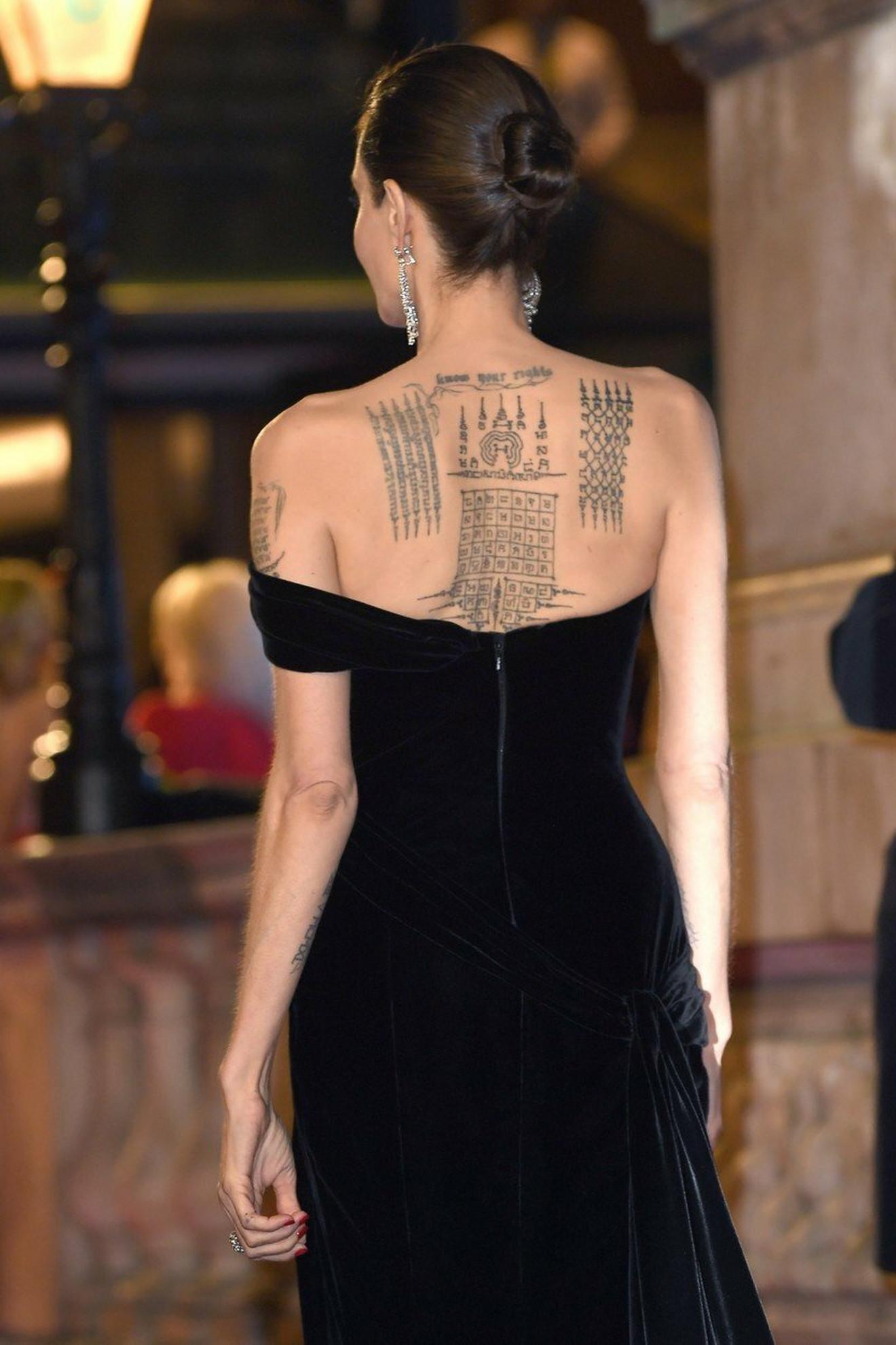 Tetovaže Anđeline Žoli