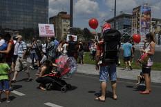 Slavija06 protest foto Predrag Dedijer