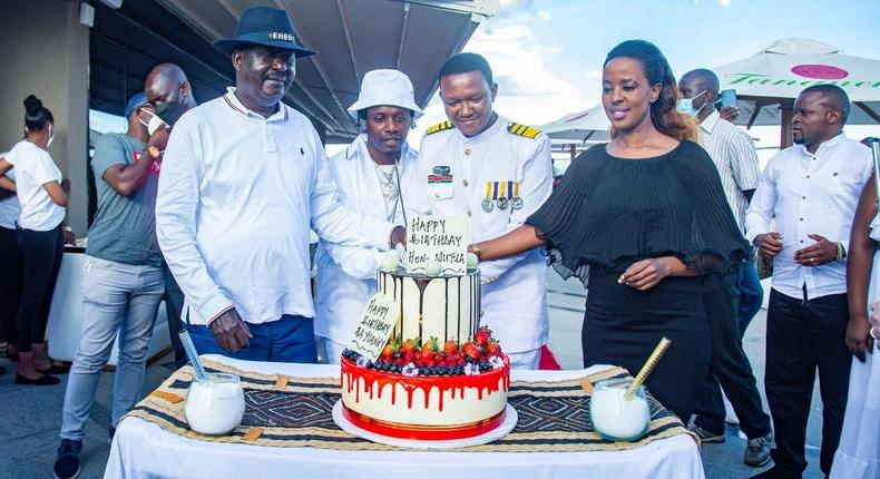 Photos from the Governor Alfred Mutua and Rayvanny's Joint Birthday Party (Courtesy)