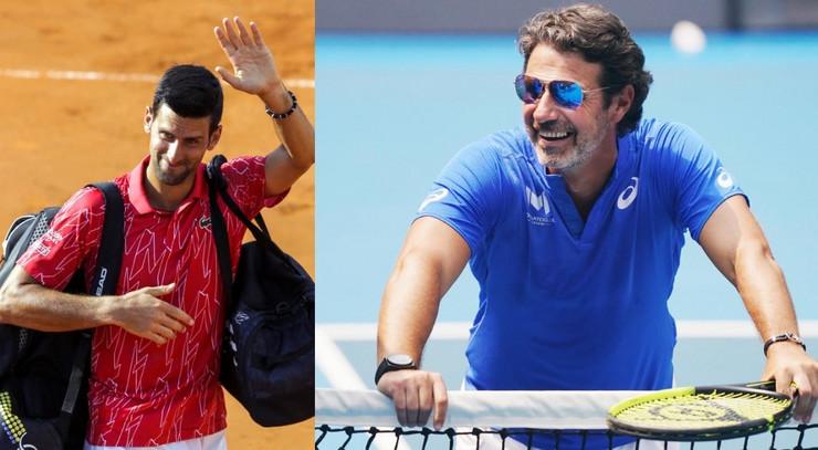 Novak Đoković i Patrik Muratoglu