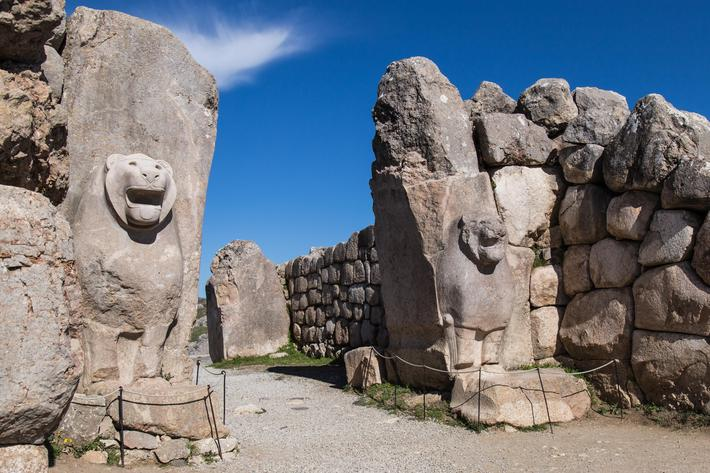 Lion Gate, Hattusha, Turkey