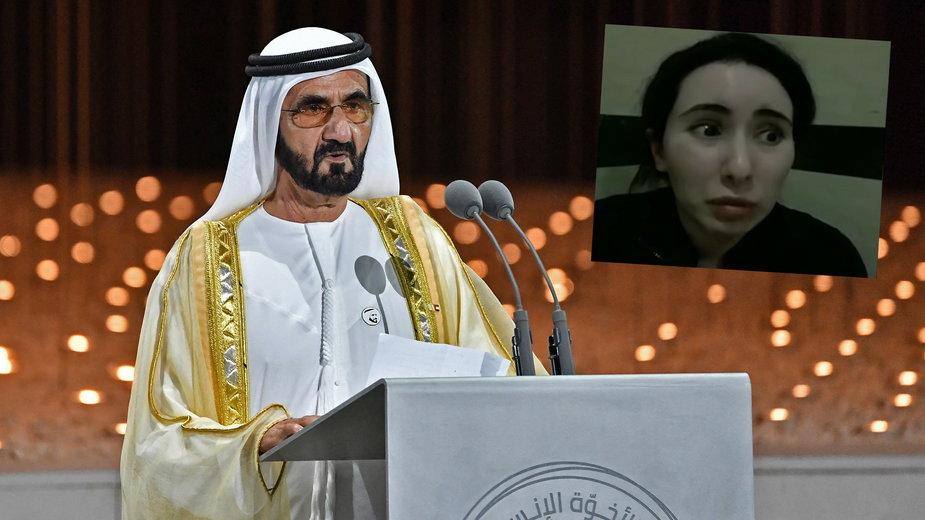 Szejk Mohammed i księżniczka Latifa