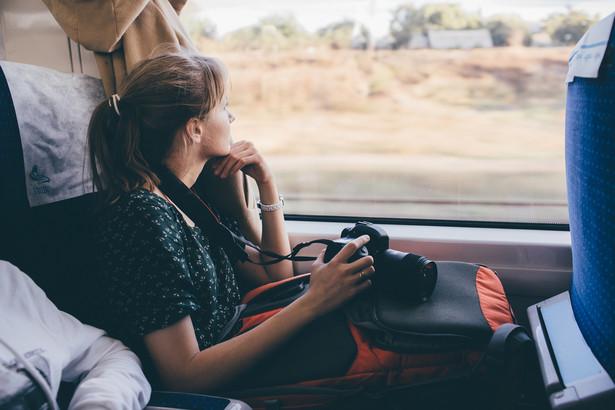pociąg turystyka